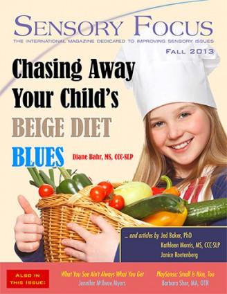 Sensory Focus Magazine - Fall 2013 Cover