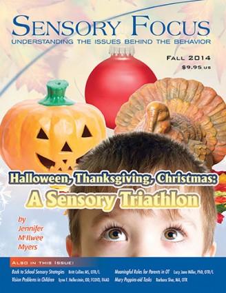 Sensory Focus Magazine - Fall 2014 Cover